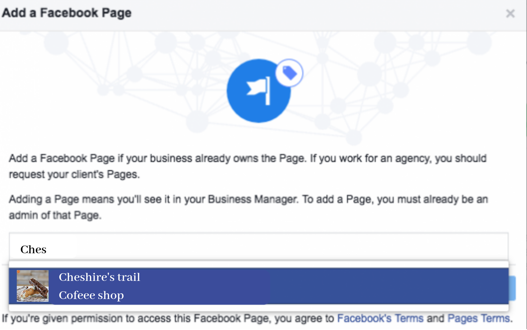 Add your Facebook Business Page(s) to Business manager-2