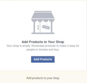 Adding Products to your Shop