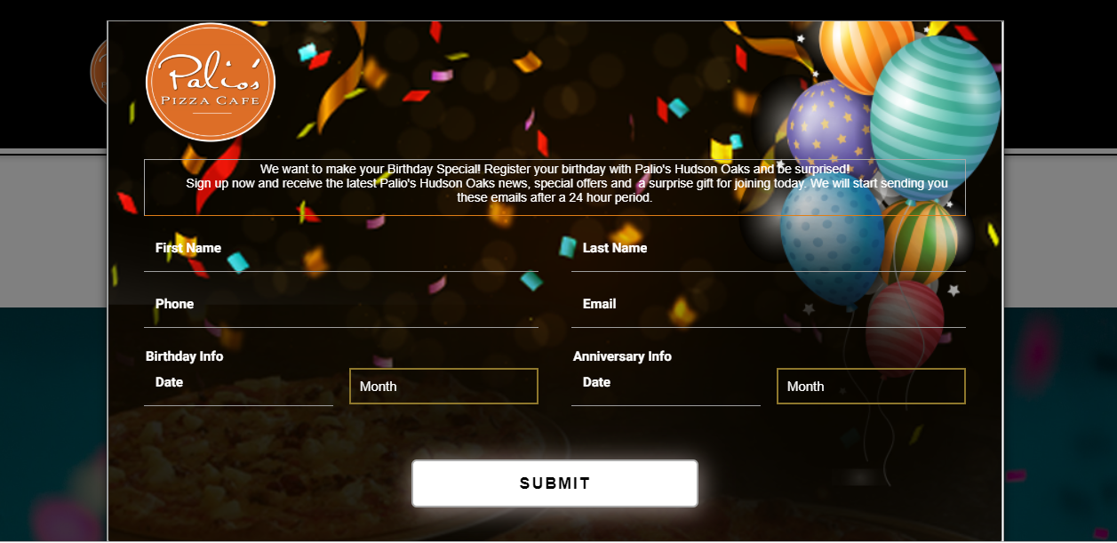 Mkonnekt's Birthday Emails to Boost Customer Engagement for your Restaurant