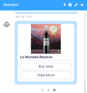 Restobot Chatbot Marketing to Boost Customer Engagement for your Restaurant.