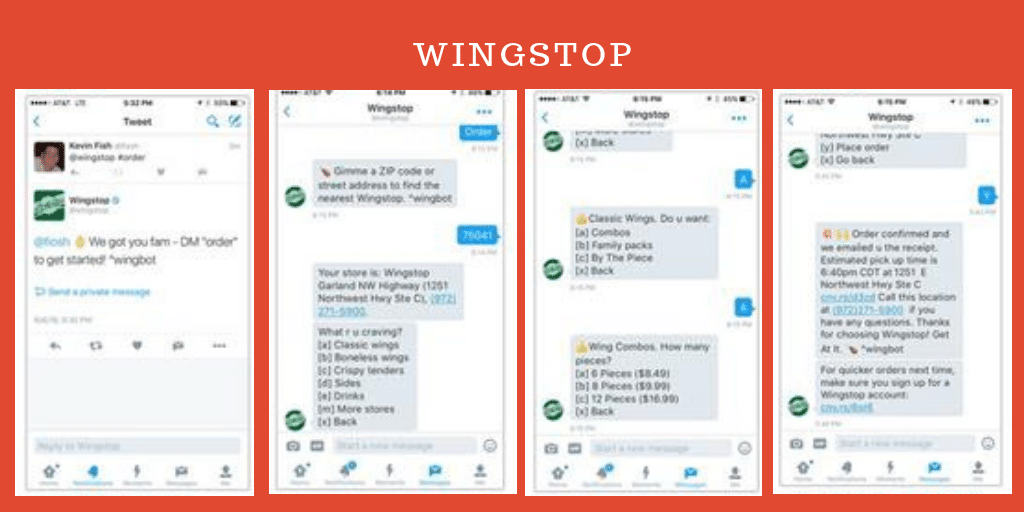 Wingstop- Chatbots For Your Restaurants