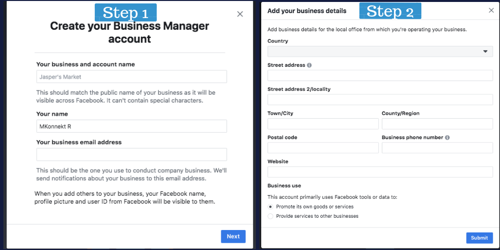 Creating Retargeting  Ads on Facebook; Setting up Facebook Business manager