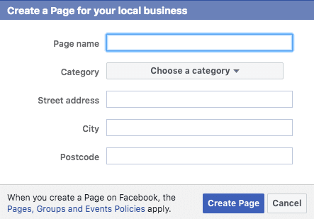Creating Retargeting  Ads on Facebook; Creating a page for your local business