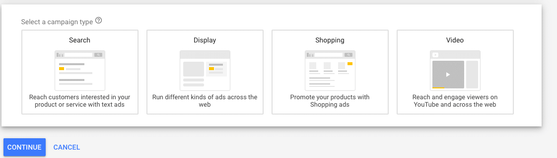 Setting Up Your Google Re-Marketing Campaign- Campaign types