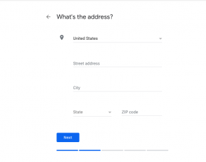 Adding Business address- Optimize Google My Business Listing for your Restaurant