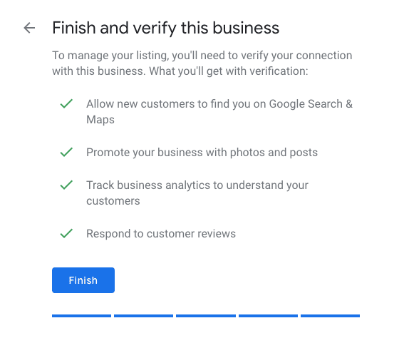Verifying your Business- Optimize Google My Business Listing for your Restaurant