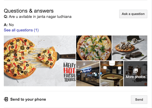 QnA - Optimize Google My Business Listing for your Restaurant
