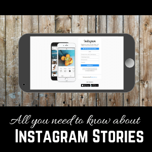All you need to know about Instagram stories - infographic