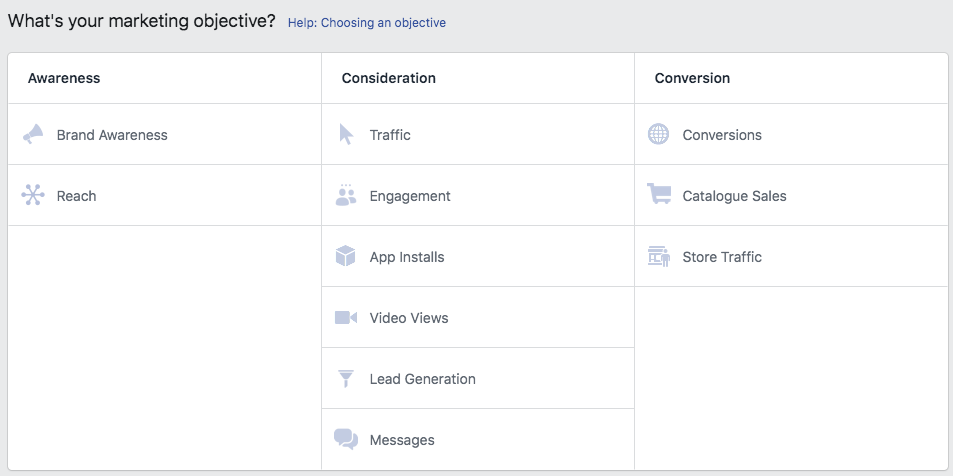 Campaign Objectives;A Beginner's Guide to Advertising on Facebook