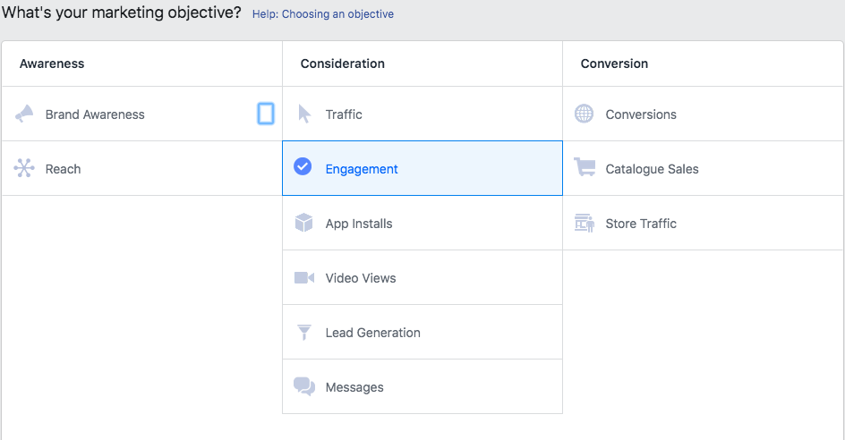 Campaign Objectives; A Beginner's Guide to Advertising on Facebook
