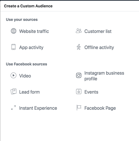 Custom Audience; A Beginner's Guide to Advertising on Facebook
