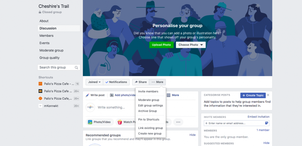 Customize your Facebook Group