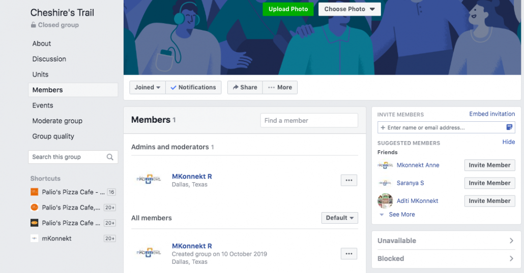 Accepting Members On Facebook Groups