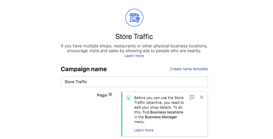 Hyperlocal Advertising on Facebook-Facebook Store Visit Ads