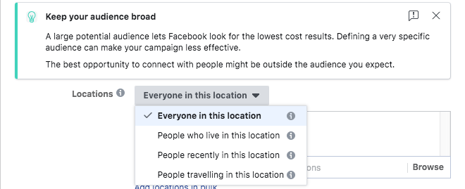 Hyperlocal Advertising on Facebook-Refining Your Audience