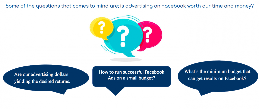 Questions about Facebook advertising: Successful Facebook Ads for your restaurant on a small budget