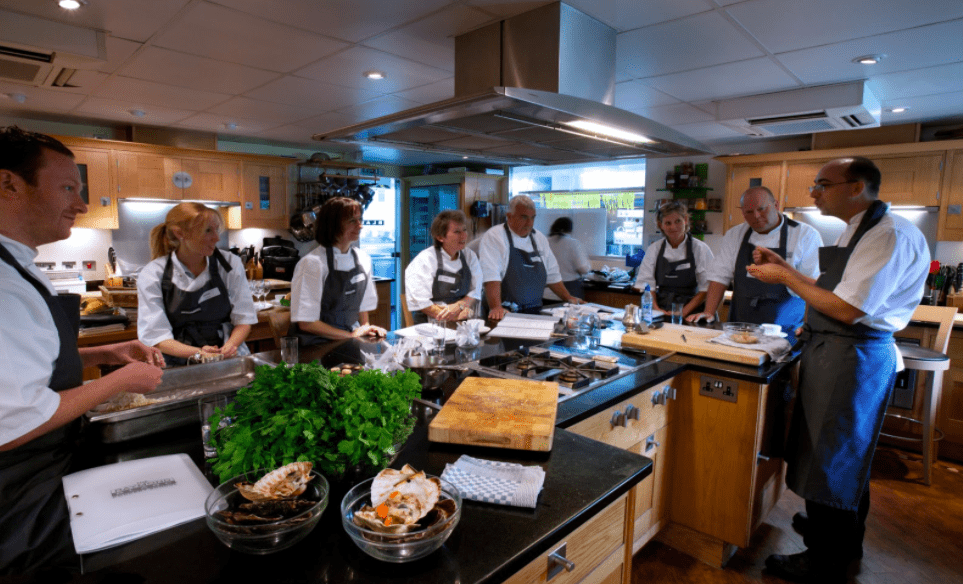 Opening a successful restaurant- training od staff