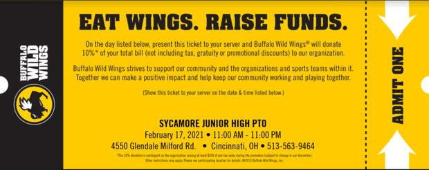Increase Your Restaurant Revenues With Online Fundraisers: Buffalo Wild Wings